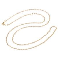 Eiserne Halskette Kette, Eisen, plattiert, Oval-Kette, keine, frei von Nickel, Blei & Kadmium, 3.50x2x0.50mm, verkauft per ca. 29 ZollInch Strang