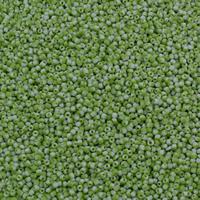 Volltonfarbe Glas Rocailles, Glas-Rocailles, rund, zweifarbig, keine, 2x2mm, Bohrung:ca. 1mm, ca. 30000PCs/Tasche, verkauft von Tasche