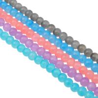 Mode Glasperlen, Glas, rund, verschiedene Größen vorhanden, keine, Bohrung:ca. 1mm, Länge:ca. 31.4 ZollInch, verkauft von Tasche