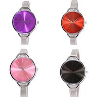 Damen Armbanduhr, Zinklegierung, mit Glas, plattiert, einstellbar, keine, frei von Nickel, Blei & Kadmium, 40mm, 14mm, Länge:ca. 9 ZollInch, verkauft von PC