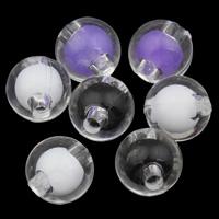 Perlen in Perlen Acrylperlen, Acryl, rund, keine, 8mm, Bohrung:ca. 1mm, ca. 1900PCs/Tasche, verkauft von Tasche