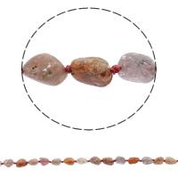 Knistern Quarz Perlen, natürlich, 7-9mm, Bohrung:ca. 1mm, ca. 39PCs/Strang, verkauft per ca. 16.9 ZollInch Strang