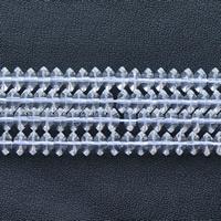 Natürliche klare Quarz Perlen, Klarer Quarz, Rondell, verschiedene Größen vorhanden, klar, Bohrung:ca. 1mm, verkauft per ca. 15.5 ZollInch Strang