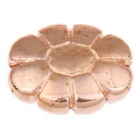 Acryl Schmuck Perlen, Blume, originale Farbe, 19x15x6mm, Bohrung:ca. 1mm, ca. 350PCs/Tasche, verkauft von Tasche
