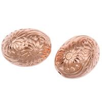 Acryl Schmuck Perlen, oval, originale Farbe, 20x15mm, Bohrung:ca. 1mm, ca. 195PCs/Tasche, verkauft von Tasche