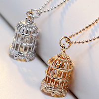 Messing Halskette, mit Verlängerungskettchen von 2lnch, Käfig, plattiert, Kugelkette & hohl, keine, frei von Nickel, Blei & Kadmium, 21x11mm, verkauft per ca. 17 ZollInch Strang