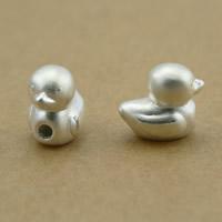 99% Perle, Ente, plattiert, keine, frei von Nickel, Blei & Kadmium, 8x11x11mm, Bohrung:ca. 2.5mm, 8PCs/Menge, verkauft von Menge