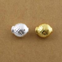 99% Perle, Fisch, plattiert, keine, 12x14x8mm, Bohrung:ca. 1.8mm, 10PCs/Menge, verkauft von Menge