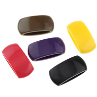 Kunststoff Diacharme, gemischte Farben, 28x13x8.50mm, 1000PCs/Menge, verkauft von Menge