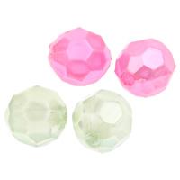 Imitation Acryl-Perlen, Acryl, rund, Nachahmung Perle & facettierte, keine, 7mm, Bohrung:ca. 1mm, 2Taschen/Menge, ca. 2450PCs/Tasche, verkauft von Menge