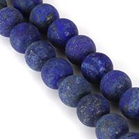 Lapislazuli Perlen, natürlicher Lapislazuli, rund, verschiedene Größen vorhanden, Länge:ca. 15.5 ZollInch, verkauft von Menge