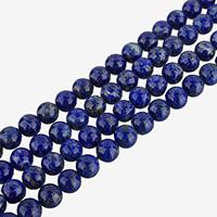 Lapislazuli Perlen, natürlicher Lapislazuli, rund, verschiedene Größen vorhanden, Klasse AA, verkauft per ca. 15.5 ZollInch Strang