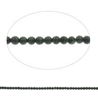 Malachit Perlen, rund, verschiedene Größen vorhanden, Bohrung:ca. 1mm, Länge:ca. 15 ZollInch, verkauft von Tasche