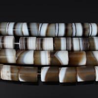 Achat Perlen, Madagaskar Achat, Zylinder, natürlich, 18x15mm, Bohrung:ca. 2mm, verkauft von PC