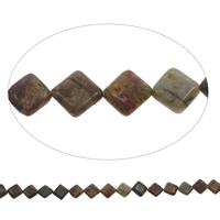 Natürliche Indian Achat Perlen, Indischer Achat, Rhombus, 14x4mm, Bohrung:ca. 1mm, ca. 27PCs/Strang, verkauft per ca. 15 ZollInch Strang