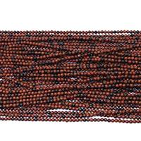 Mahagoni Obsidian Perlen, mahagonibrauner Obsidian, rund, natürlich, verschiedene Größen vorhanden, Bohrung:ca. 0.5mm, Länge:ca. 16 ZollInch, verkauft von Menge