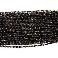 Natürliche Kaffee Achat Perlen, rund, verschiedene Größen vorhanden, Bohrung:ca. 0.5mm, Länge:ca. 16 ZollInch, verkauft von Menge