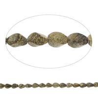 Bild Jaspis Perlen, Twist, 9x14mm, Bohrung:ca. 1mm, Länge:ca. 15.5 ZollInch, 5SträngeStrang/Tasche, ca. 28PCs/Strang, verkauft von Tasche