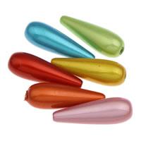 Traumhafte Acrylperlen, Acryl, Tropfen, verschiedene Größen vorhanden, gemischte Farben, Bohrung:ca. 1mm, verkauft von Tasche