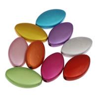 Traumhafte Acrylperlen, Acryl, Pferdeauge, gemischte Farben, 14x23x5mm, Bohrung:ca. 1mm, ca. 380PCs/Tasche, verkauft von Tasche