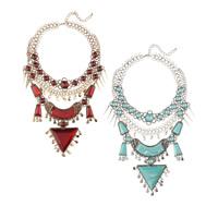 Mode Statement Halskette, Zinklegierung, mit Harz, mit Verlängerungskettchen von 2.7lnch, plattiert, keine, frei von Nickel, Blei & Kadmium, 110mm, verkauft per ca. 18.1 ZollInch Strang