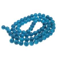 Mode Glasperlen, Glas, rund, blau, 12mm, ca. 36PCs/Strang, verkauft per ca. 15.5 ZollInch Strang