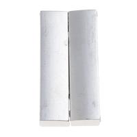 Zinklegierung Magnetverschluss, Rechteck, Platinfarbe platiniert, Einzelstrang, frei von Blei & Kadmium, 20x37x7mm, Bohrung:ca. 34x4mm, 10PCs/Tasche, verkauft von Tasche