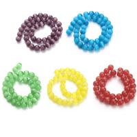 Cats Eye Perlen Schmuck, Katzenauge, rund, verschiedene Größen vorhanden, keine, Bohrung:ca. 1.5mm, verkauft per ca. 15.5 ZollInch Strang