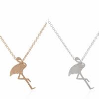 Messing Halskette, Vogel, plattiert, Oval-Kette, keine, frei von Nickel, Blei & Kadmium, 450mm, verkauft per ca. 17.5 ZollInch Strang