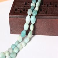 Amazonit Perlen, flache Runde, natürlich, 9-10mm, Bohrung:ca. 1mm, ca. 38PCs/Strang, verkauft per ca. 15 ZollInch Strang