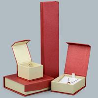Karton Schmuckset Kasten, mit Kleber Film, verschiedene Stile für Wahl, 10PCs/Menge, verkauft von Menge