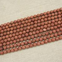Goldsand Perle, rund, synthetisch, verschiedene Größen vorhanden & facettierte, Länge:ca. 15 ZollInch, ca. 3SträngeStrang/Tasche, verkauft von Tasche