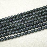 grüner Goldsandstein Perle, rund, synthetisch, verschiedene Größen vorhanden, Länge:ca. 15 ZollInch, ca. 3StrangStrang/Tasche, verkauft von Tasche