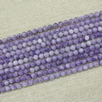Natürliche Amethyst Perlen, rund, Februar Birthstone & verschiedene Größen vorhanden, verkauft per ca. 15 ZollInch Strang