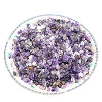 Natürliche Amethyst Perlen, Klumpen, Februar Birthstone & kein Loch, 3-10mm, ca. 1000PCs/kg, verkauft von kg