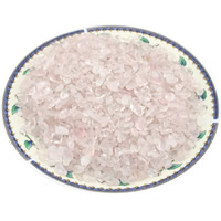 Natürliche Rosenquarz Perlen, Klumpen, kein Loch, 3-10mm, ca. 1000PCs/kg, verkauft von kg
