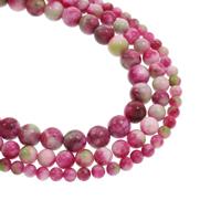 Kirschstein Perle, rund, natürlich, verschiedene Größen vorhanden, Bohrung:ca. 1mm, verkauft per ca. 15.5 ZollInch Strang