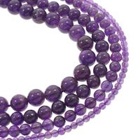 Natürliche Amethyst Perlen, rund, Februar Birthstone & verschiedene Größen vorhanden, Grad AAA, verkauft per ca. 15.5 ZollInch Strang