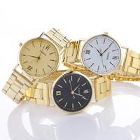 Damen Armbanduhr, Zinklegierung, mit Glas, plattiert, für Frau, keine, frei von Nickel, Blei & Kadmium, 40x10mm, Länge:ca. 8.2 ZollInch, verkauft von PC