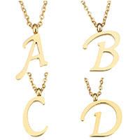 Edelstahl Schmuck Halskette, mit Verlängerungskettchen von 2 lnch, Buchstabe, plattiert, Oval-Kette & verschiedene Stile für Wahl, keine, 1.5mm, verkauft per ca. 18 ZollInch Strang
