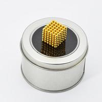Magnetische Kugeln, Eisen, rund, plattiert, DIY & mit Magnet, keine, 3mm, 216PCs/setzen, verkauft von setzen