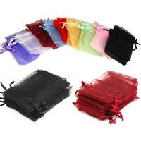 Schmuck Kordelzugbeutel, Rechteck, verschiedene Größen vorhanden, keine, 100PCs/Tasche, verkauft von Tasche