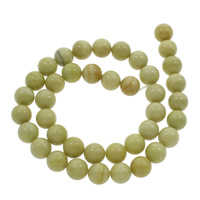 Australian Agate Perle, rund, 10mm, Bohrung:ca. 1mm, ca. 38PCs/Strang, verkauft per ca. 14.5 ZollInch Strang