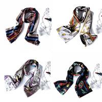 Seidentuch, ultraviolette Anti & verschiedene Muster für Wahl, 17x145cm, verkauft von Strang