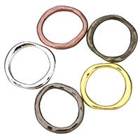 Zinklegierung Verbindungsring, plattiert, keine, frei von Nickel, Blei & Kadmium, 23x22x2.50mm, Innendurchmesser:ca. 17mm, 100PCs/Menge, verkauft von Menge