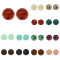 Acryl Schmuck Perlen, rund, verschiedene Größen vorhanden, keine, Bohrung:ca. 1-2mm, verkauft von Tasche