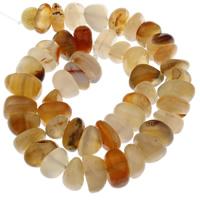 Natürlich rote Achat Perlen, Roter Achat, 10x4x5mm-18x8x17mm, Bohrung:ca. 1mm, ca. 50PCs/Strang, verkauft per ca. 15 ZollInch Strang