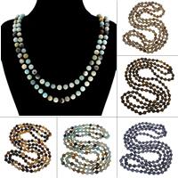 Edelstein Pullover Halskette, rund, verschiedenen Materialien für die Wahl & für Frau, 8mm, verkauft per ca. 59 ZollInch Strang