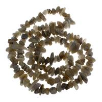 Labradorit Perlen, 4x7x9mm-5x9x23mm, Bohrung:ca. 1mm, ca. 108PCs/Strang, verkauft per ca. 15.5 ZollInch Strang