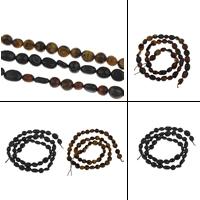 Edelstein Schmuckperlen, verschiedenen Materialien für die Wahl, 4x6x6mm-6x7x16mm, Bohrung:ca. 1mm, verkauft per ca. 15.5 ZollInch Strang